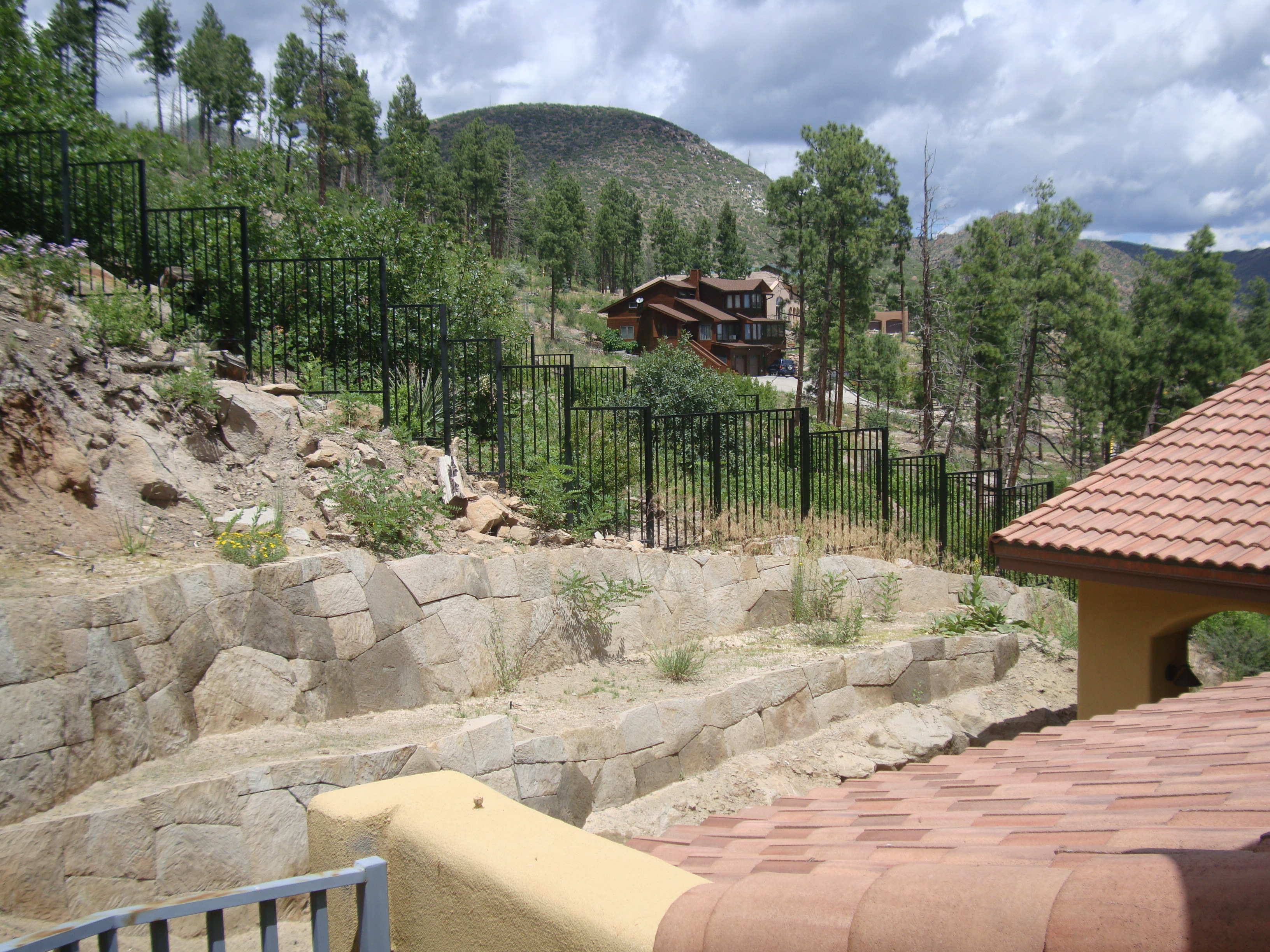 Los Alamos Landscaping More Rock Walls Retaining Walls Wall